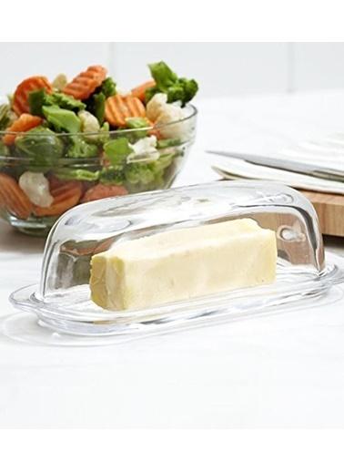 Paşabahçe PaşabahÇe Basic 4'lü Kahvaltılık Tereyağlık Peynirlik Saklama Kabı Renkli